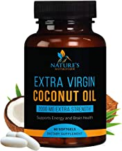 Sponsored Ad - Organic Coconut Oil - Weight Support, Healthy Skin, Long Nails, Hair Growth, and Natural Energy - Virgin, C...