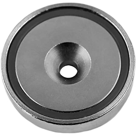 """Applied Magnets 1-pc, 1.8"""" Strong NdFeB Neodymium Cup Magnet with Countersunk Hole."""