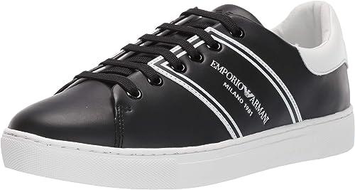 Emporio armani lace up sneaker  donna scarpe da ginnastica X3X096XM090A120