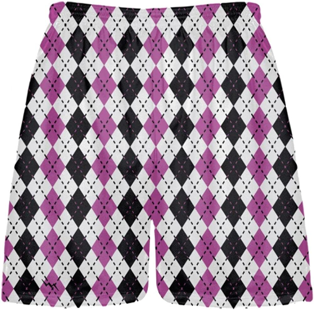 Hot Pink Black Lacrosse store Shorts Popular brand in the world Argyle