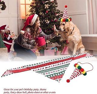●家族へのプレゼント●ファッショナブルな布通気性ペットスカーフ、装飾キャップ猫帽子、ペット用品猫用ソフト(Saliva towel set)