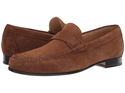 Canali Suede Loafer (Light Brown) Men