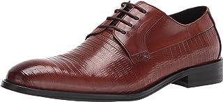 حذاء أوكسفورد رونزوي للرجال من ستيف مادين، جلد كوجناك