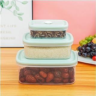 LLRZ Boite Alimentaire Conteneur de Stockage de Nourriture Conteneur Transparent Boîte de Rangement conteneur pour Les Poi...
