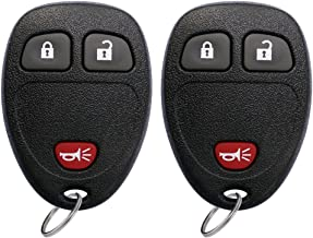 $20 » YITAMOTOR Car Key Fob Keyless Entry Remote Compatible for Silverado Tahoe Express Avalanche/GMC Sierra Yukon/Pontiac Torrent/Saturn Outlook Vue (OUC60270, OUC60221)