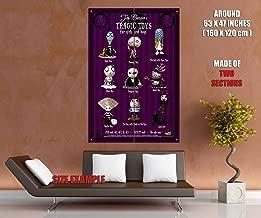 51115 Tim Burton's Tragic Toys Movie Decor Wall 63x47 Huge Giant Poster Print