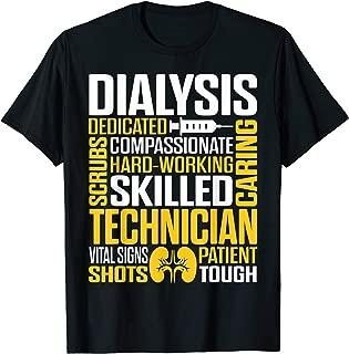 Dialysis Technician Hardworking Nephrology Tech T-Shirt