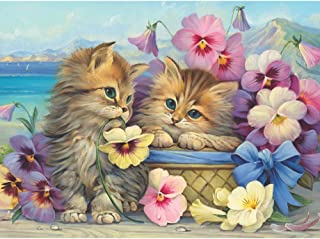 Bits and Pieces - 1000 Piece Jigsaw Puzzle for Adults - Friends Forever - 1000 pc Kittens, Cats Jigsaw by Artist Oleg Gavrilov