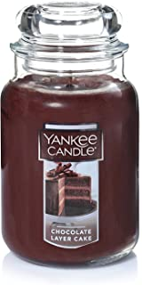 Yankee Candles Large Jar Candle, Chocolate Layer Cake
