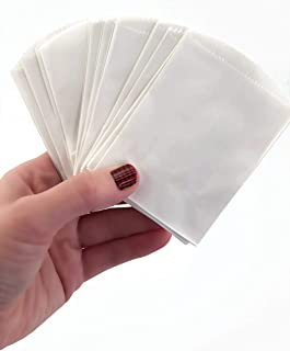"""50 Mini White Paper Bags - 4"""" x 2.5"""" Party Favor Bags, DIY Craft Supplies"""