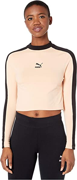 Classics Long Sleeve Cropped Top