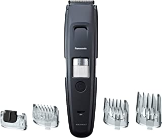 Panasonic Professional Beard Trimmer with 4 Precision Attachments for Detailing, 58 Trim Length Settings with Adjustable Dial, Wet Dry, Cordless ER-GB96-K