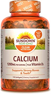 Best sundown calcium 1200 mg Reviews