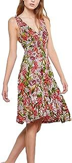 Isabel de Pedro Red Floral Dress