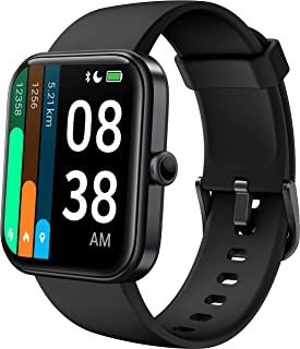 Smartwatch, YONMIG 1,69'' Full Touch Schermo Orologio Fitness con Alexa Integrata/Saturimetro(SpO2), Cardiofrequenzimetro ...