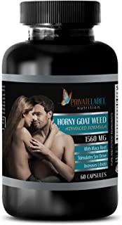 enhancement for men - EPIMEDIUM 1560MG - HORNY GOAT WEED - ADVANCED FORMULA - horny goat weed with maca - 1 Bottle (60 Capsules)