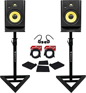 (2) KRK RP8-G4 Rokit Powered 8