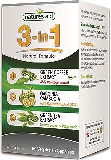Natures Aid 1000 Mg 3-in-1 Natural Formula, 60 Capsules