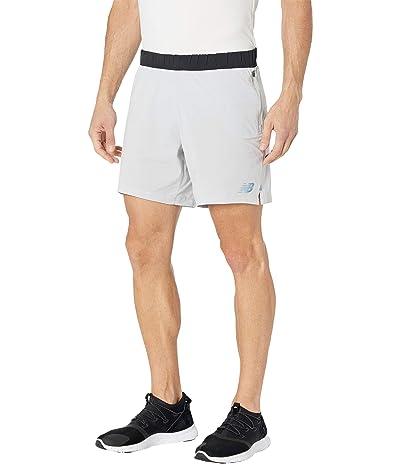 New Balance Q Speed Fuel Shorts (Light Aluminum) Men