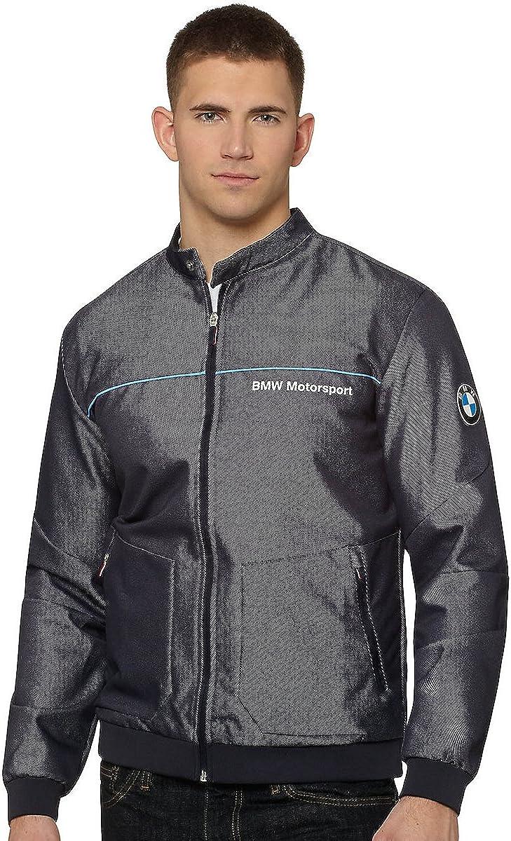 PUMA Men's BMW Motorsport Wind Resistant Zip-Up Statement Jacket