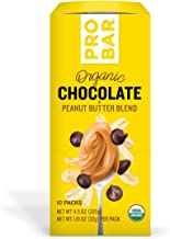 PROBAR - Nut Butters, Chocolate Peanut Butter, Non-GMO, Gluten-Free, USDA Certified Organic, Healthy, Plant-Based Whole Food Ingredients, Natural Energy (10 Count) Packaging May Vary