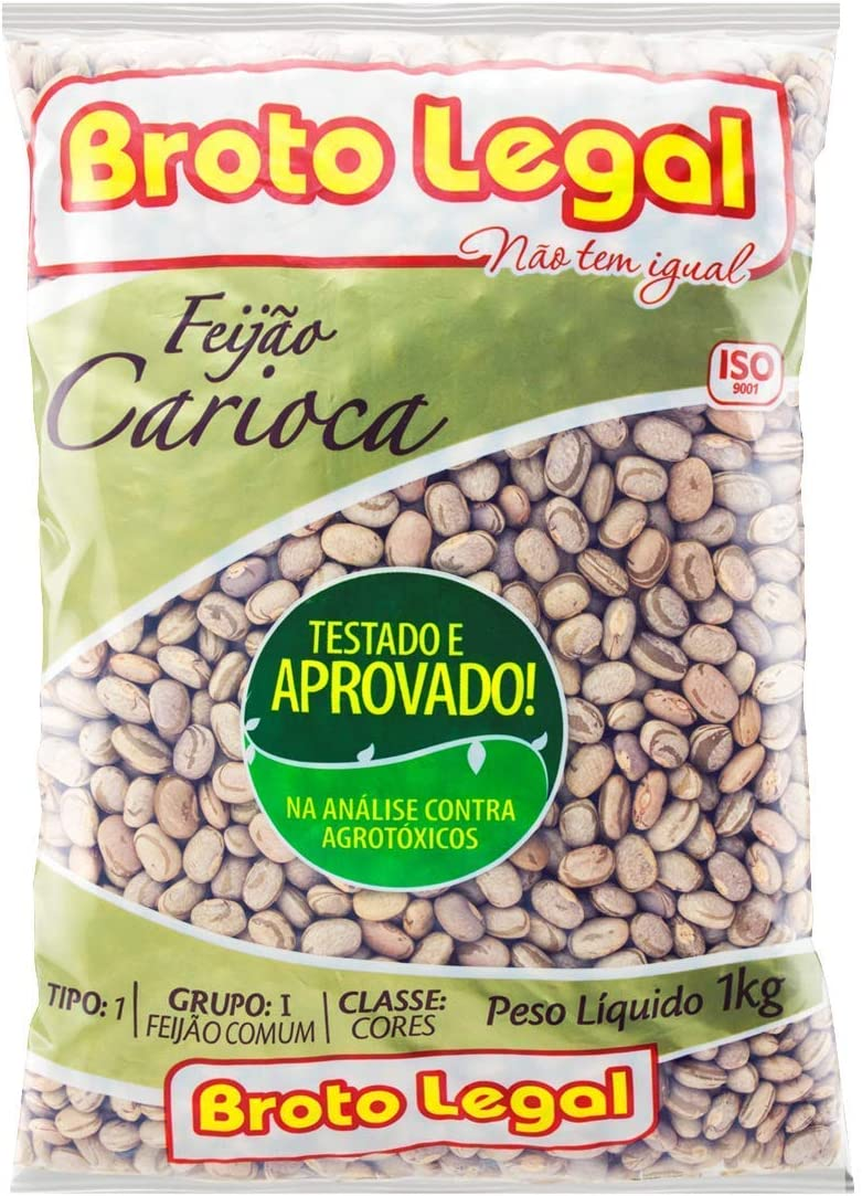 Broto Legal Feijão Carioca Our shop OFFers the best service Max 84% OFF 1kg Beans 35oz Pinto