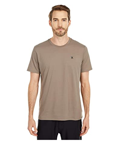 Hurley Dri-Fit Staple Icon Reflective Short Sleeve Tee (Olive/Grey) Men