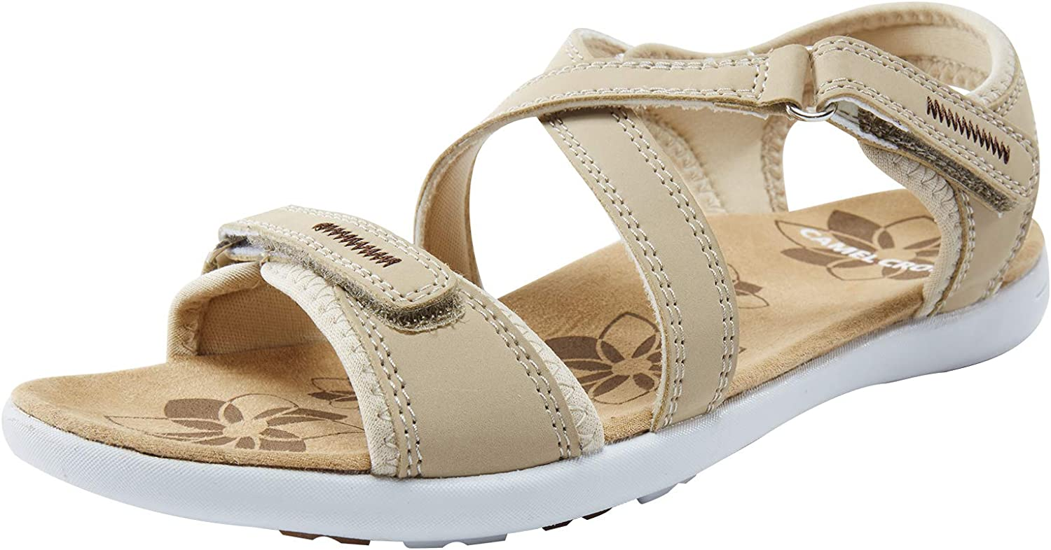 Portland Mall Excellence CAMEL CROWN Women's Hiking Sport Athle Comfortable Sandals Ultra