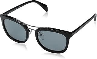 Prada Men's 0PR 17QS Black/Dark Grey