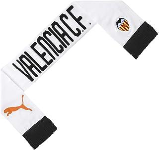 PUMA Valencia CF Fan 2019-2020, Bufanda, White Black-Vibrant Orange