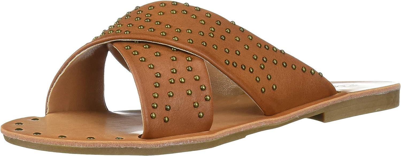 ZiGi Soho Women's ALAISHA Slide Sandal, Tan, 10 Medium US