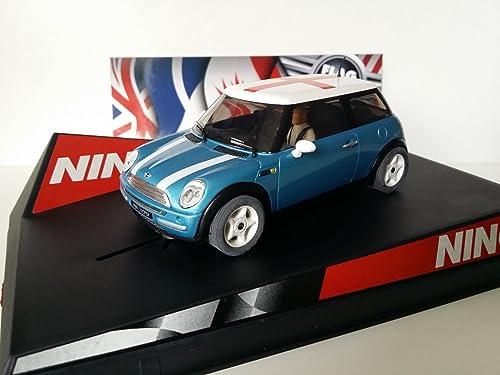 colores increíbles SCX Scalextric Scalextric Scalextric Slot Ninco 50311 Mini Cooper Electric azul  England   Compra calidad 100% autentica