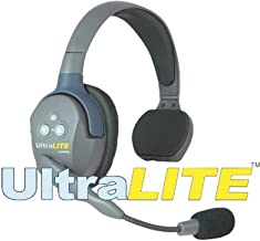 Eartec UL4S UltraLITE 4-Person System, Includes Single-Ear Master Headset and 3xSingle-Ear Remote Headset