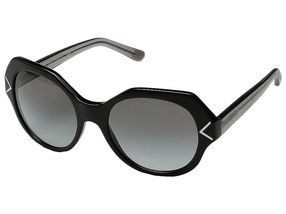 Retro Sunglasses | Vintage Glasses | New Vintage Eyeglasses Tory Burch 0TY7116 53mm BlackGrey Gradient Fashion Sunglasses $180.00 AT vintagedancer.com