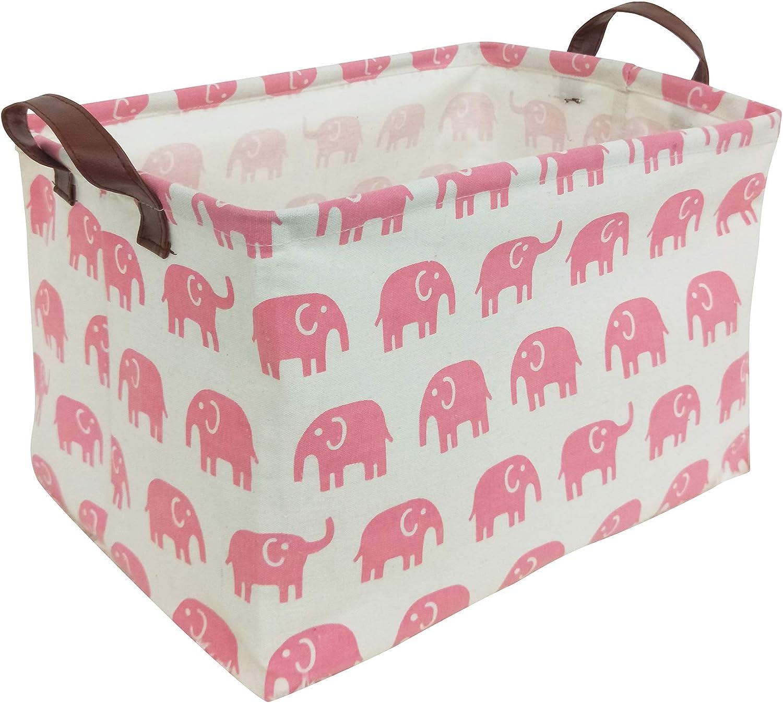HIYAGON Rectangular Storage Box Basket for - Some Ranking TOP16 reservation Kids Baby or Pets