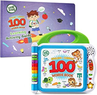 LeapFrog Learning Friends English-Chinese 100 Words Book with Learning Activity Guide, Amazon Exclusive (Frustration Free ...