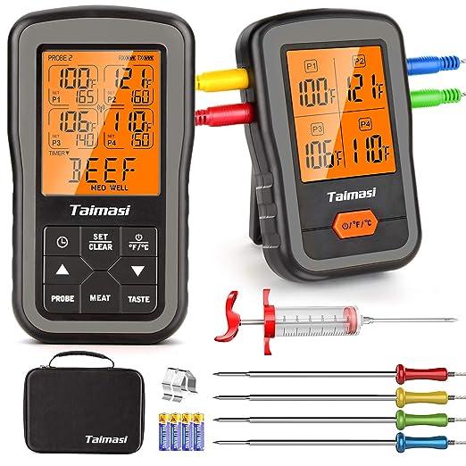 Taimasi Wireless Digital Meat Thermometer - Simple to Use