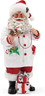 Department 56 Possible Dreams Santa and His Pets Precious Heartbeats Figurine, 10.5 Inch, Multicolor