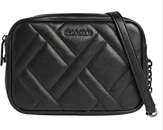 Calvin Klein Quilt Camera Bag Black