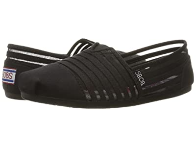 BOBS from SKECHERS Bobs Plush #Adorbs (Black/Black 1) Women
