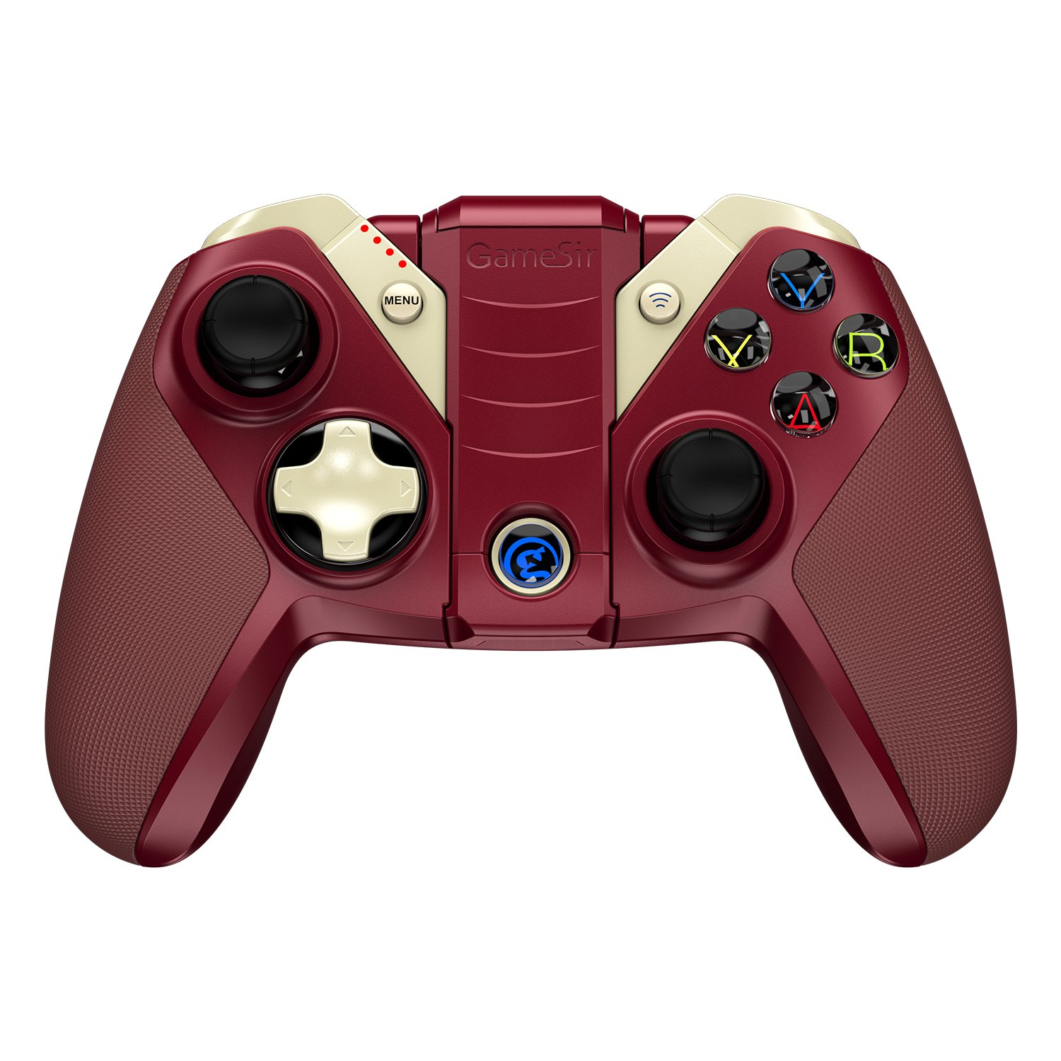 iPhone Ipad Tello Drone Mac Red GameSir M2 MFI Wireless Gamepad iOS Gaming Controller Compatible for Apple TV iPod Touch