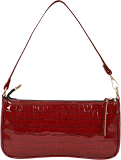 LUCKZA Synthetic Leather Casual Travel Chain Shoulder Deatachable Slingbag For Women