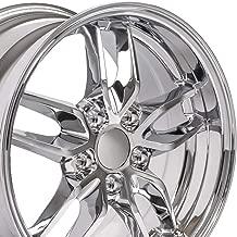 OE Wheels 17 Inch Fits Chevy Camaro Corvette Pontiac Firebird Deep Dish Stingray Style CV18A Chrome 17x9.5 Rim Hollander 5633