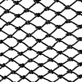 HWJ Anti-fall Net for Kids Building Safety Net Rope Children s Stairs Shatter-resistant Net Bar Decoration Net Animal Breeding Net Fence Net Climbing Suspension Isolation Protection Net Black