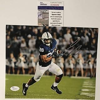 Autographed Signed Saquon Barkley Penn State Nittany Lions 8x10 College  Football Photo JSA COA   fb6ea9f8f