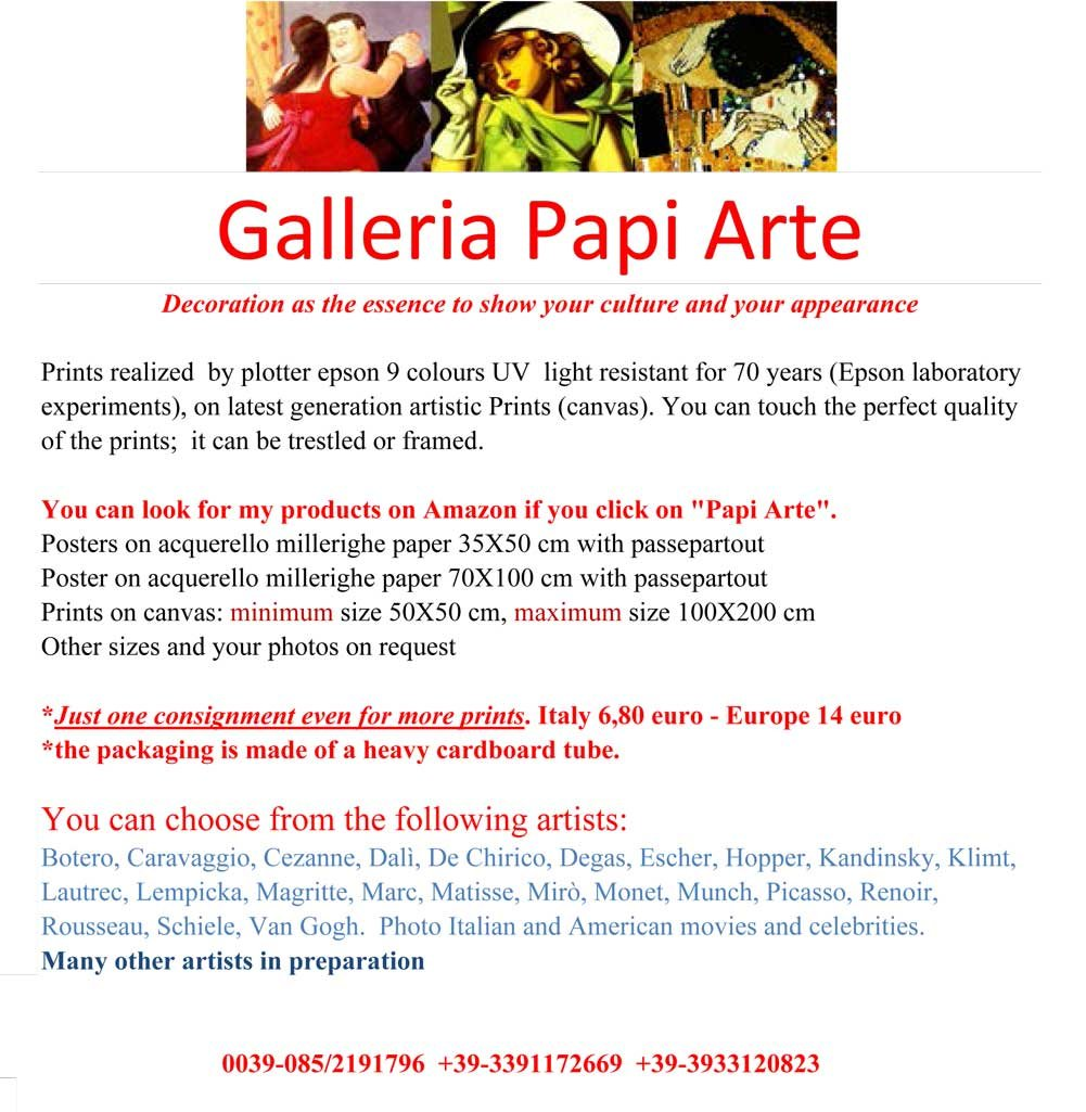 Degas 05 Poster Stampe cm. 35 x 50 papi arte moderna stampa da ...