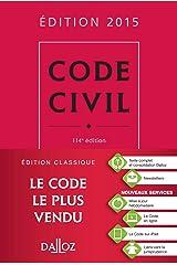 Code civil 2015 - 114 e éd. Relié