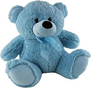 Elka Australia 76201-40BL Jelly Teddy Bear Soft Plush Toy, Light Blue, 40 Centimeters