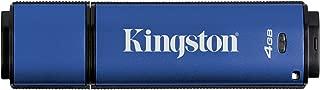 Kingston Digital 4GB USB 3.0 DTVP30 256bit AES FIPS 197, Management Ready (DTVP30DM/4GB)