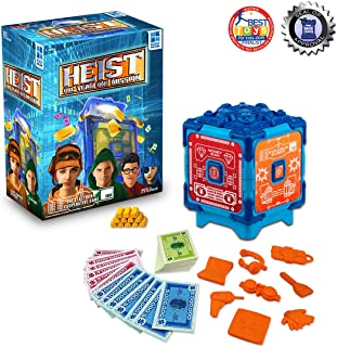 Heist, Crack The Safe to Get The Gold, The Fast Paced Electronic Cooperative Team Challenge Game for up to 4 Players, Great for Kids Teens and Adults Ages 7 and up